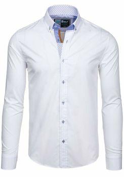 Koszula męska BOLF 5777 biała