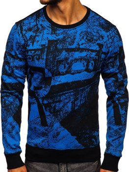 Bluzy męskie modne bluzy kolekcja 2020 │ Denley.pl