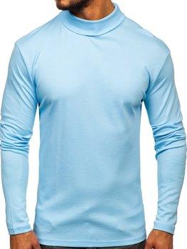 Golf męski basic błękitny Bolf 145347