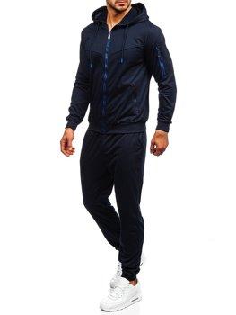 Granatowy dres męski Denley HY627