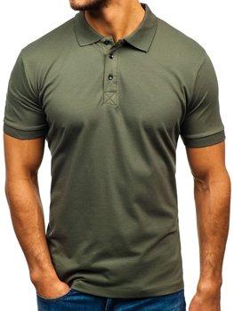Koszulka polo męska khaki Bolf 171221
