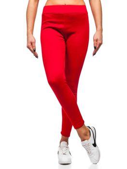 Legginsy damskie czerwone Denley YW002
