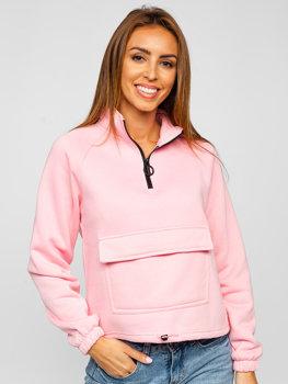Różowa bluza damska Denley KSW2032