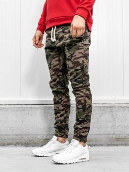Spodnie joggery męskie moro-khaki Bolf 0367