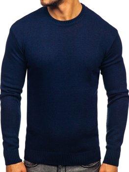 Sweter męski granatowy Denley 0001
