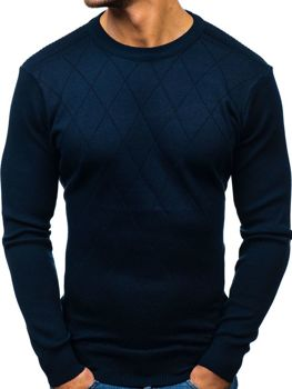 Sweter męski granatowy Denley H1827