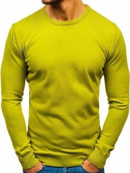 Sweter męski jasnozielony Denley 2300