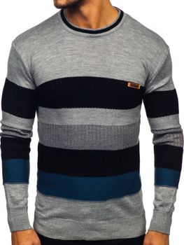 Sweter męski szary Denley 04