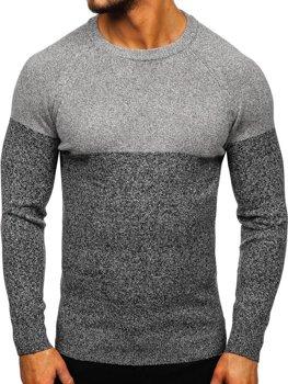 Sweter męski szary Denley H1809