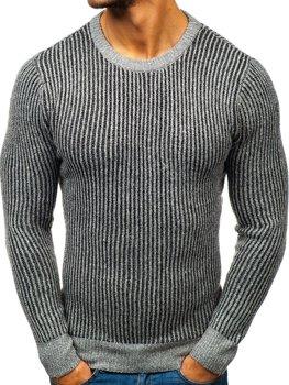 Sweter męski szary Denley H1818