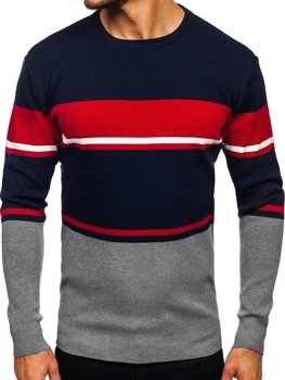 Szary sweter męski Denley H2068