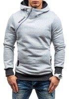 Bluza męska z kapturem szara Denley BEN