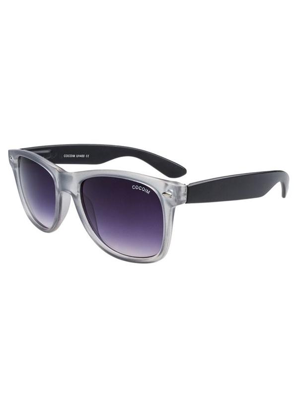 Okulary przeciwsłoneczne szaro-czarne Denley CO201B