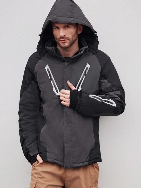 Stylizacja nr 404 - kurtka narciarska, spodnie bojówki