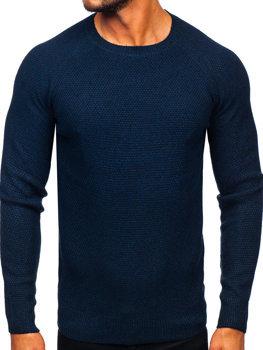 Sweter męski granatowy Denley H1810