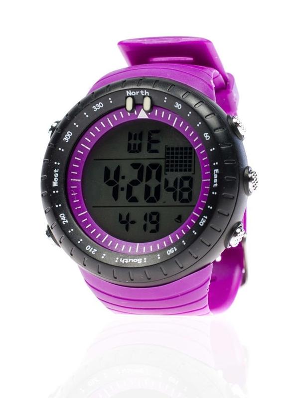 Zegarek na rękę fioletowy Denley 8335