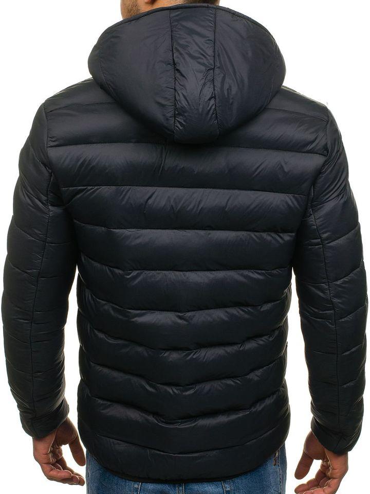 Kurtka męska zimowa sportowa czarna Denley 1115