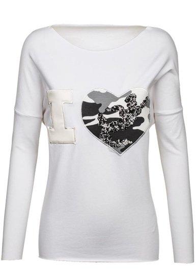 Bluza damska biała Denley 03