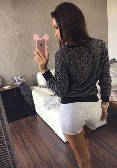 Bluza damska czarna Denley 7258