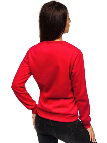 Bluza damska czerwona Denley W01