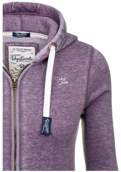 Bluza damska fioletowa Denley 6996