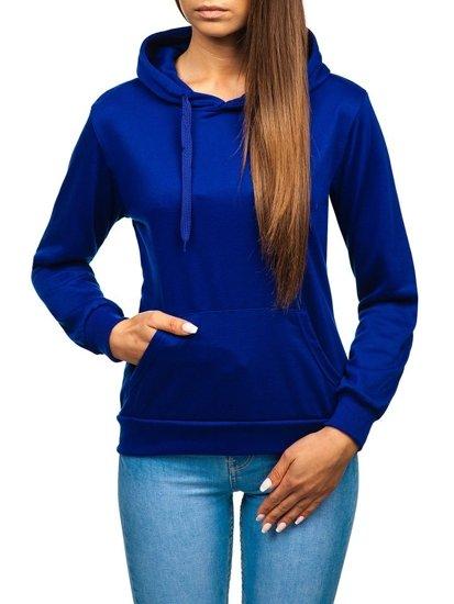 Bluza damska kobaltowa Denley WB11001-A