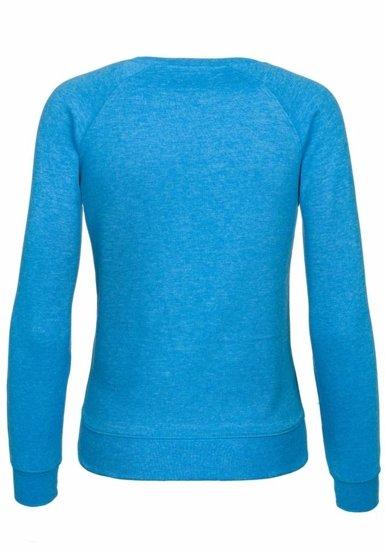 Bluza damska turkusowa Denley 4798