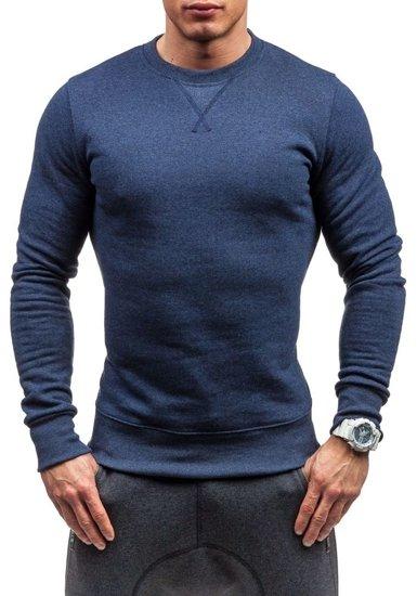 Bluza męska bez kaptura jasnogranatowa Bolf 44S
