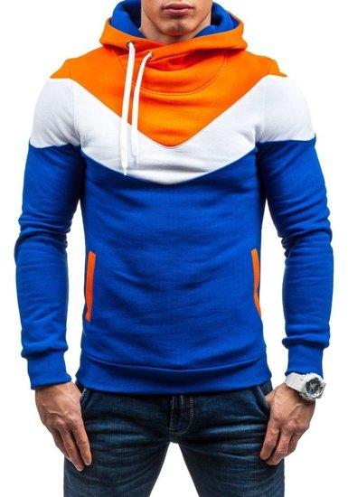 Bluza męska z kapturem kobaltowa Denley RALPH