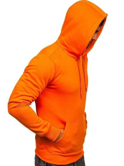 Bluza męska z kapturem pomarańczowa Denley 2009