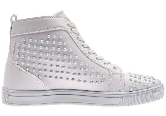 Buty męskie białe Denley 3018