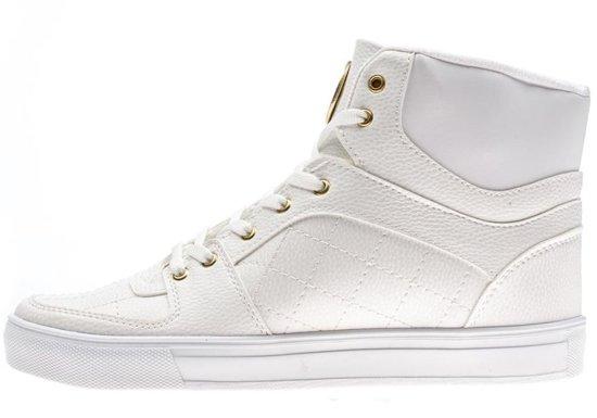 Buty męskie białe Denley 886