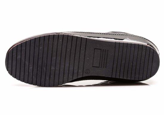 Buty męskie czarne Denley 444