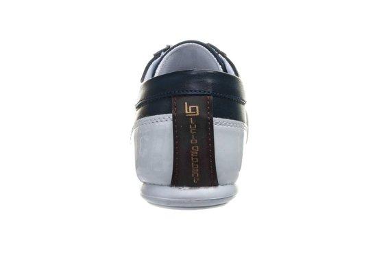 Buty męskie granatowo-bordowy Denley 610-2
