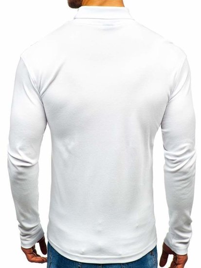 Golf męski basic biały Denley 145347