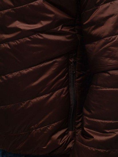 Kurtka męska przejściowa brązowa Denley 139