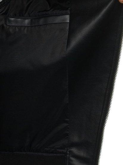 Kurtka męska przejściowa czarna Denley 2295