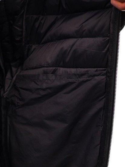 Kurtka męska zimowa sportowa moro-zielona Denley LY1001-1