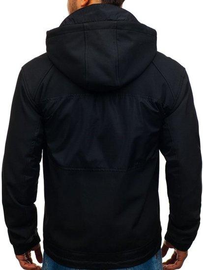 Kurtka męska softshell czarna Denley 2139