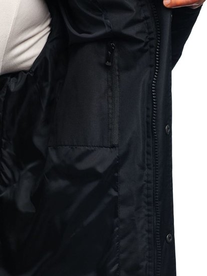 Kurtka męska zimowa czarna Denley 201821