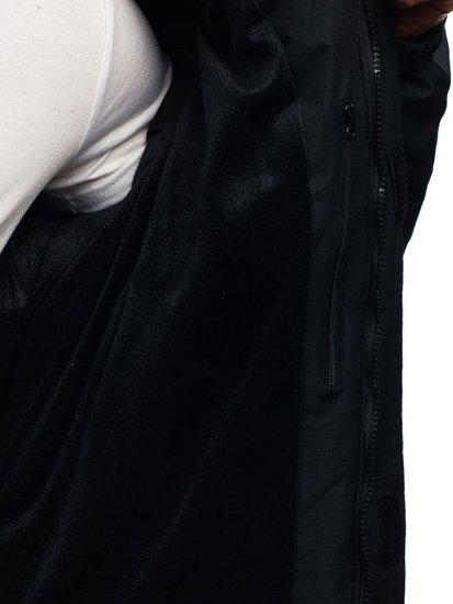 Kurtka męska zimowa czarna Denley HZ8102