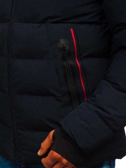 Kurtka męska zimowa granatowa Denley 5923
