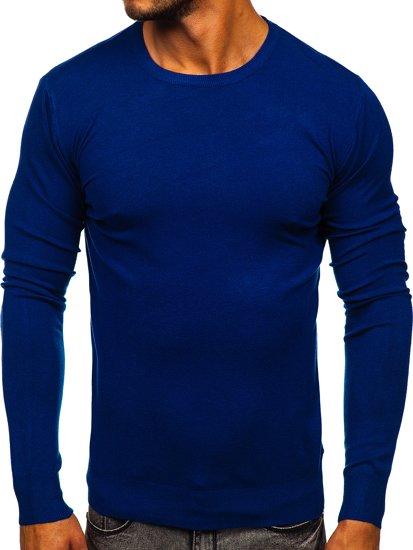 Niebieski sweter męski Denley YY01