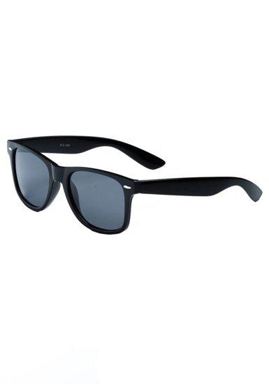 Okulary przeciwsłoneczne czarne Denley PLS865P