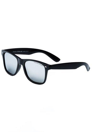 Okulary przeciwsłoneczne czarne Denley PLS865PC