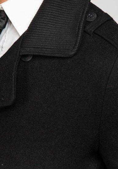 Płaszcz męski zimowy czarny Denley 1784