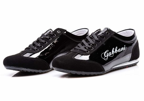Połysk buty męskie czarne Denley 611
