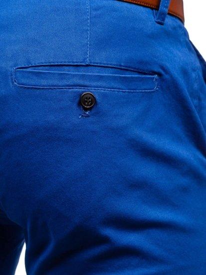 Spodnie chinosy męskie niebieskie Denley 1120 VQ VAQVQ 3
