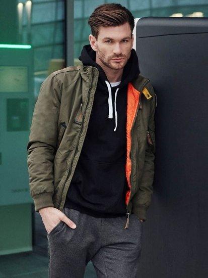 Stylizacja nr 386 - kurtka zimowa, bluza z kapturem, T-shirt basic, dresowe joggery