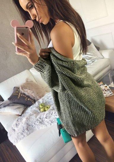 Sweter damski khaki Denley 01